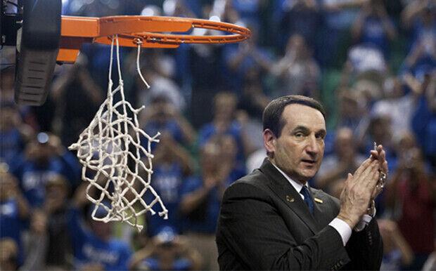 Mike Krzyzewski, entrenador de Duke./Getty