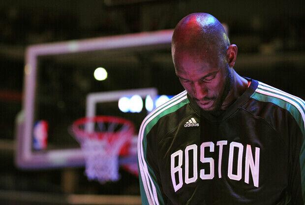 Kevin Garnett, ala-pívot de Boston Celtics./ Getty Images