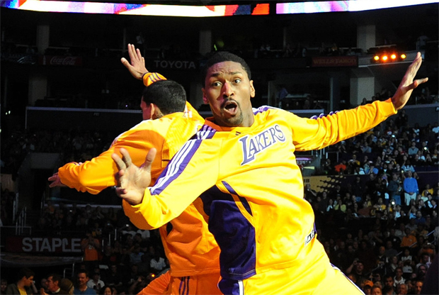Ron Artest, alero de Los Angeles Lakers./ Getty Images