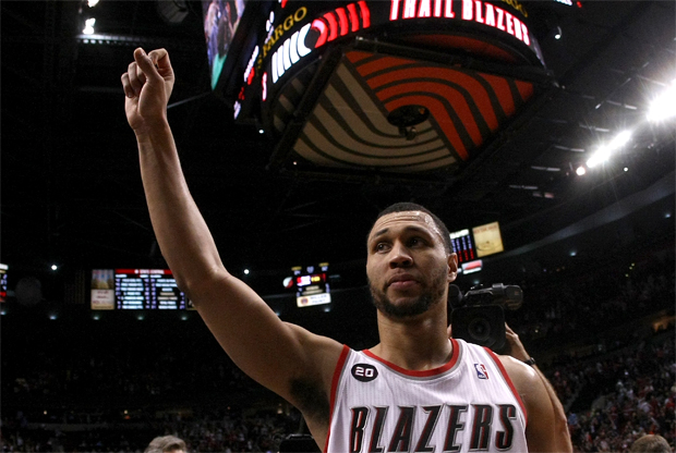Brandon Roy, escolta de Portland Trail Blazers./ Getty Images