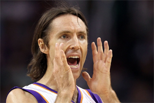 Steve Nash. / Getty Images