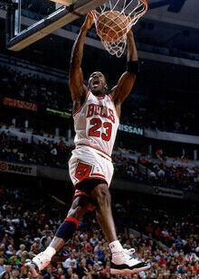 Michael Jordan en la Finales de 1996 (Chicago Bulls) - Jordan XI./ Getty Images