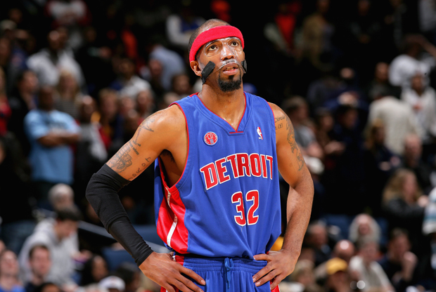 Richard Hamilton, escolta de Detroit Pistons./ Getty Images