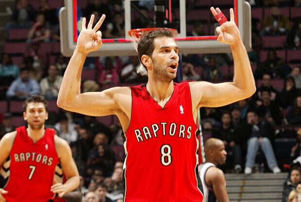 José Manuel Calderón, base de los Raptors de Toronto./Getty Images