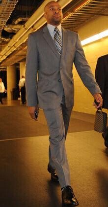 Derek Fisher, presidente del sindicato de jugadores./ Getty Images