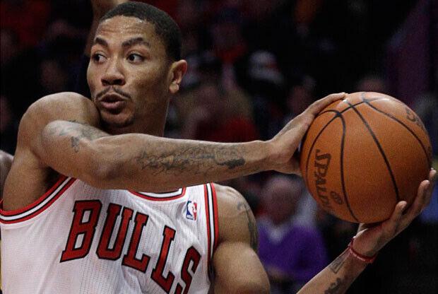 Rose, base de los Chicago Bulls, el MVP más joven de la historia de la NBA