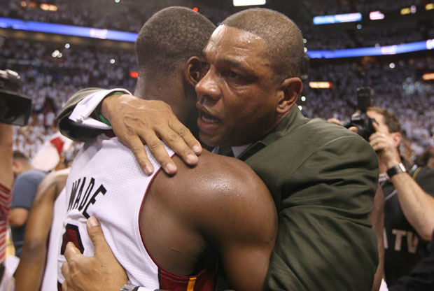 Doc Rivers felicita a Dywane Wade