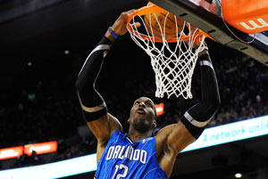 Howard, estrella de Orlando Magic