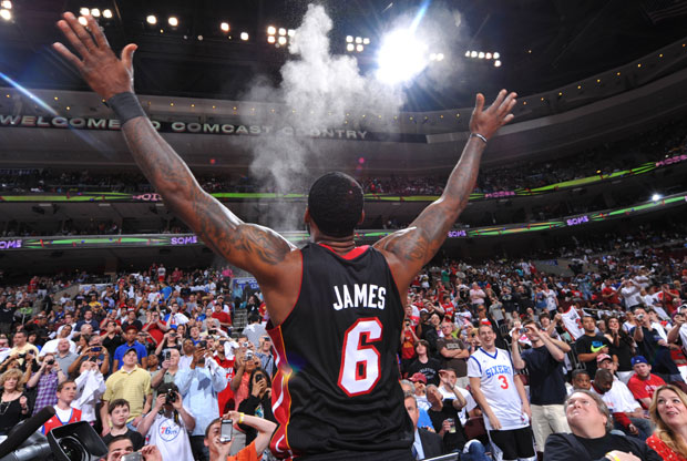 LeBron James./Getty Images