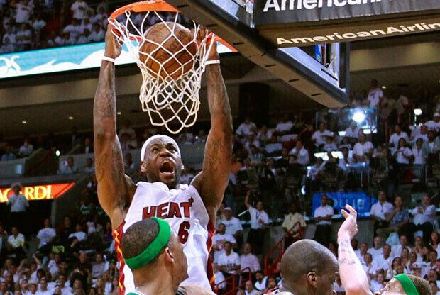 Los Celtics no pudieron evitar una nueva demostración de LeBron James