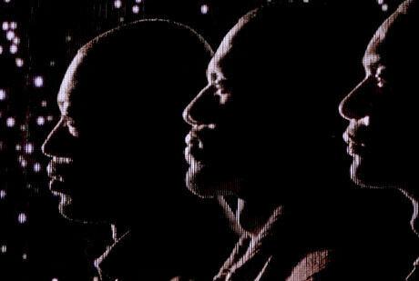 Wade, LeBron y Bosh, los líderes de los Heat de Miami./Getty Images
