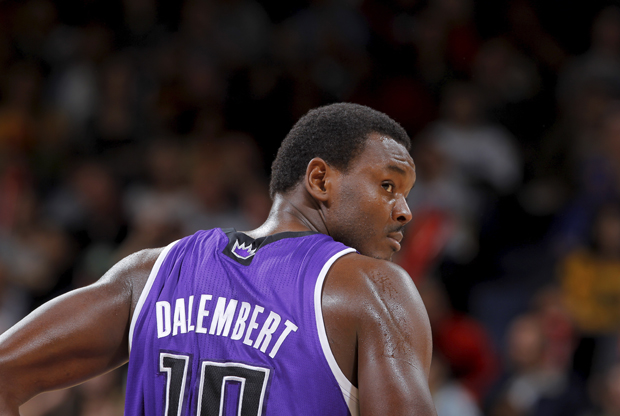 Samuel Dalembert, pívot de Sacramento Kings./ Getty Images