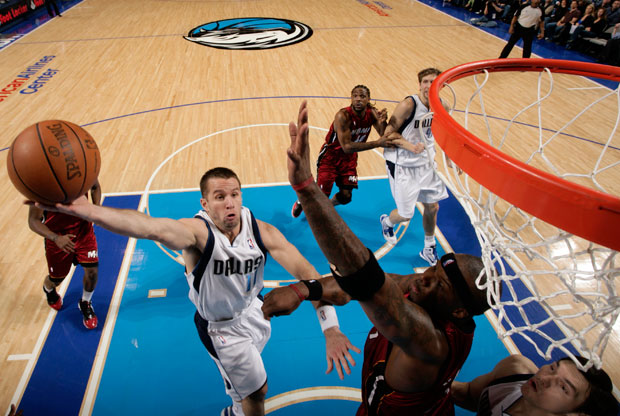 JJ Barea, base de los Mavs, una de las sensaciones en estos playoffs./Getty Images
