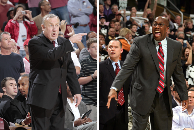 Rick Adelman y Mike Brown, candidatos a dirigir a Indiana Pacer./ Getty Images