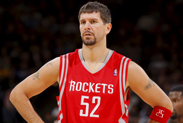 Brad Miller (Houston Rockets)./ Getty Images