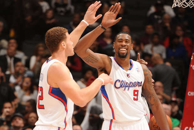 Blake Griffin y DeAndre Jordan (Los Angeles Clippers)./ Getty Images