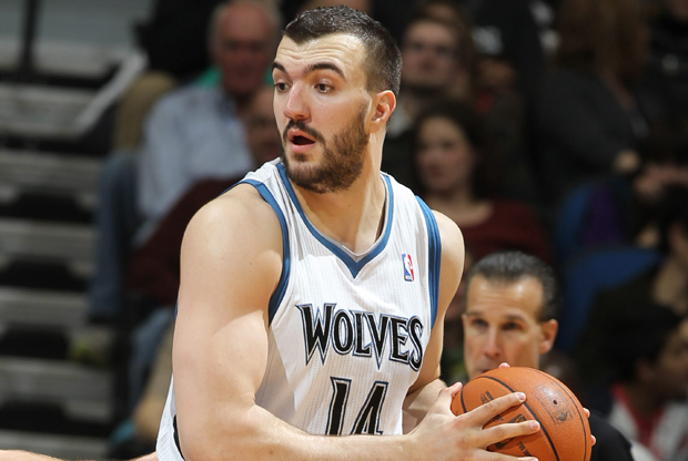 Nikola Pekovic (Minnesota Timberwolves)./ Getty Images