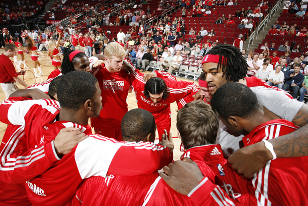 Jugadores Houston Rockets./ Getty Images