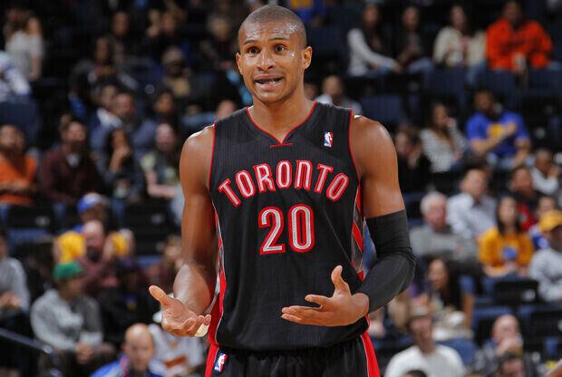 Leandro Barbosa (#20 Toronto Raptors)./ Getty Images