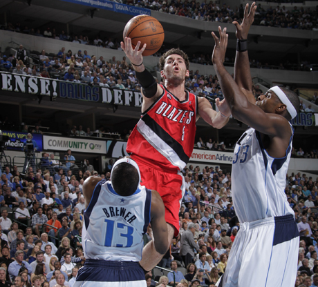 Rudy Fernández (Portland Trail Blazers)./ Getty Images