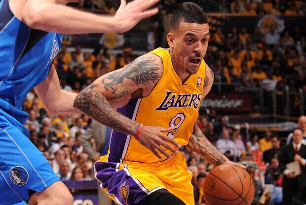 Matt Barnes (Los Angeles Lakers)./ Getty Images