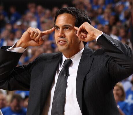 Erik Spoelstra, entrenador de Miami Heat