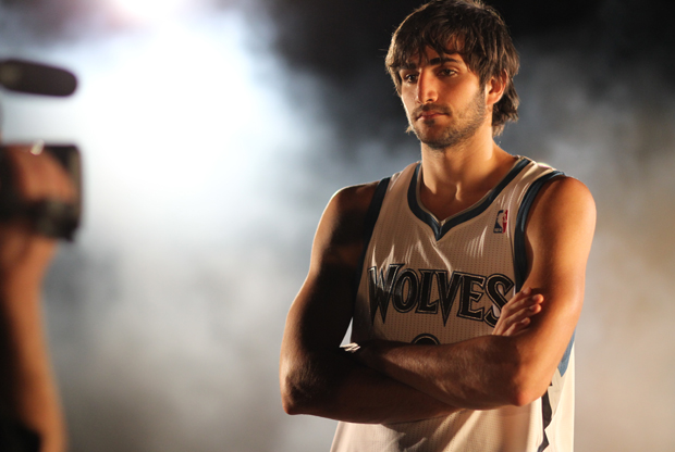 Ricky Rubio (Minnesota Timberwolves)./ Getty Images