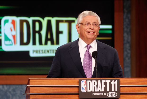 David Stern, Comisonado de la NBA./ Getty Images