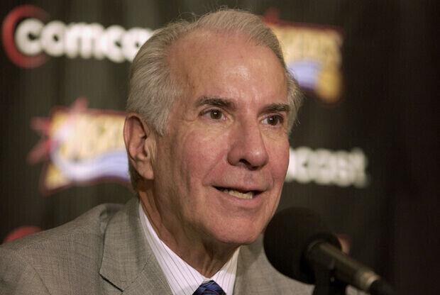 Ed Snider, dueño de Philadelphia 76ers./ Getty Images