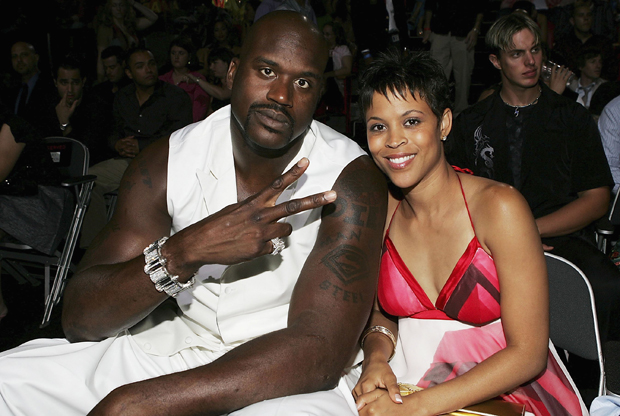 O'Neal y su ex-esposa Shaunie./ Getty Images