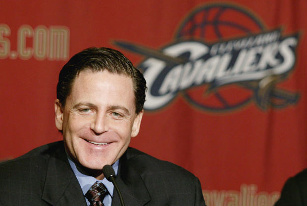 Dan Gilbert, dueño de Cleveland Cavaliers./ Getty Immages