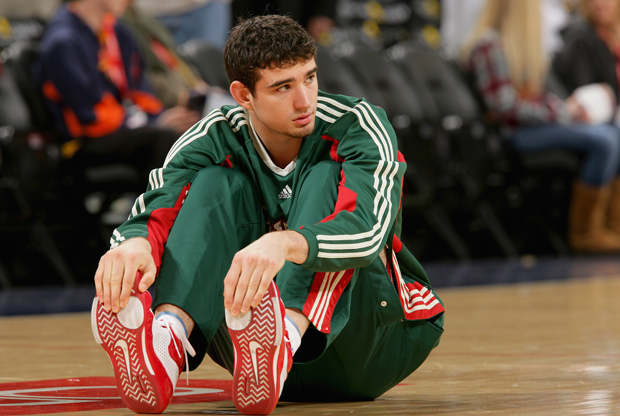 Joe Alexander  durante su año en rookie Milwaukee Bucks./ Getty Images