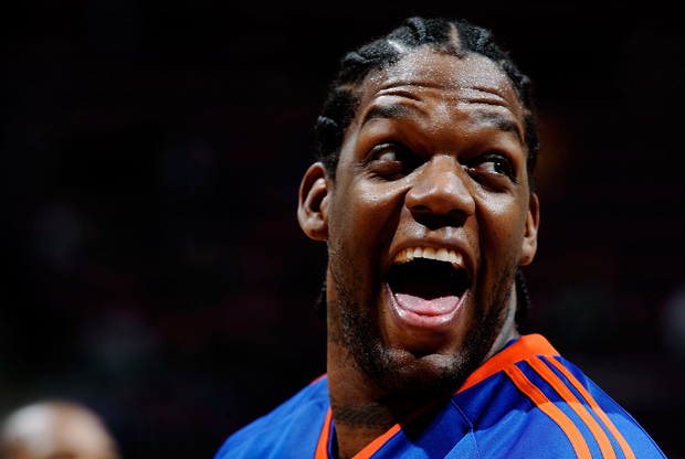 Eddy Curry durante su etapa en New York Knicks./ Getty Images