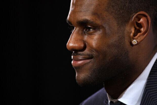 LeBron James (Miami Heat)./ Getty Images