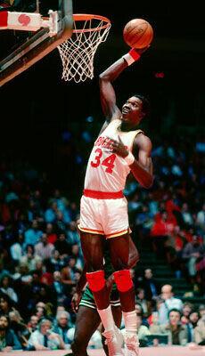 Hakeem Olajuwon, un mito de la NBA y un referente para muchos jugadores./Getty