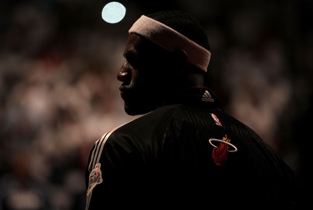 LeBron James./Getty