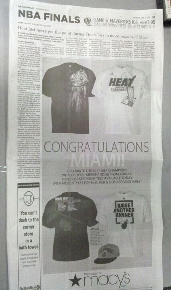 Página del Miami Herald