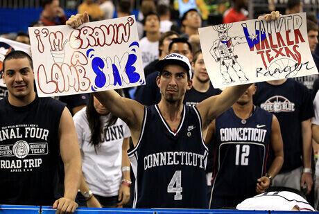 La afición, un activo de la NCAA./Getty