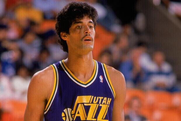 Piculín Ortiz, en su etapa como jugador de Utah Jazz./Getty