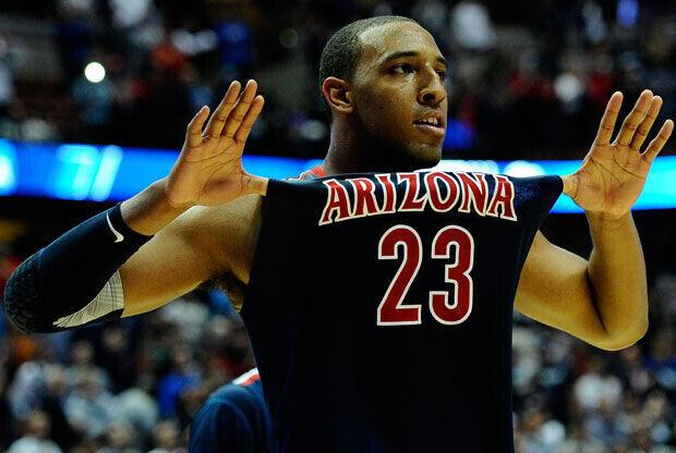 Derrick Williams, el 23 de Arizona que apunta a la NBA./Getty