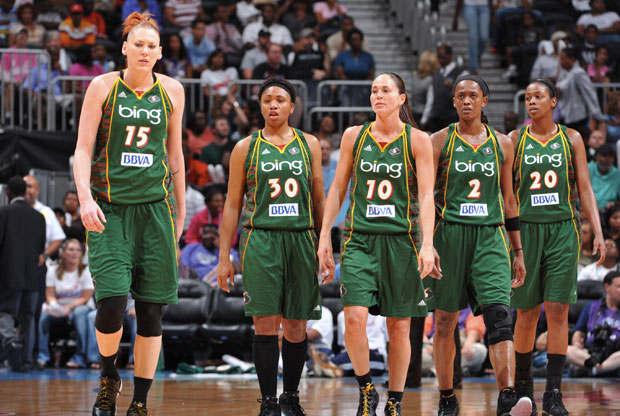 Seattle Storm, vigentes campeonas de la WNBA./Getty