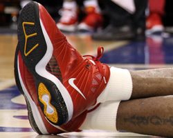 Nike LeBron 8 PS - LeBron James (Miami Heat)./ Getty Images