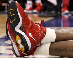 Nike LeBron 8 PS - LeBron James (Miami Heat)./ Getty Images