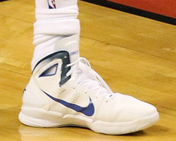 Nike Hyperdunk 2010 - Dirk Nowitzki (Dallas Mavericks)./ Getty Images