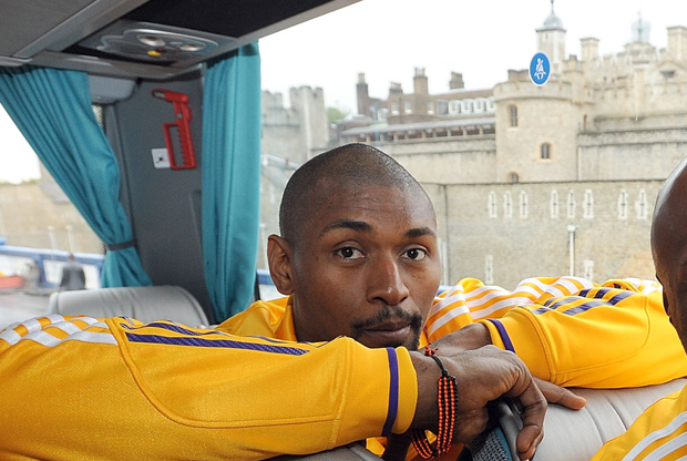 Ron Artest en Londres./ Getty Images