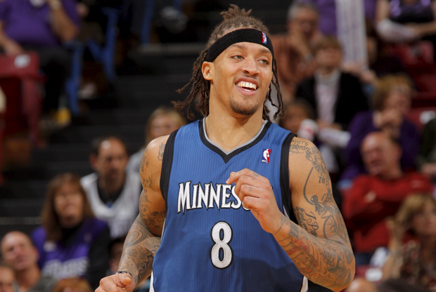 Michael Beasley (Minnesota Timberwolves)./ Getty Images