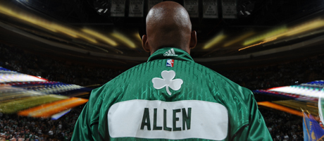 Ray Allen (Boston Celtics)./ Getty Images