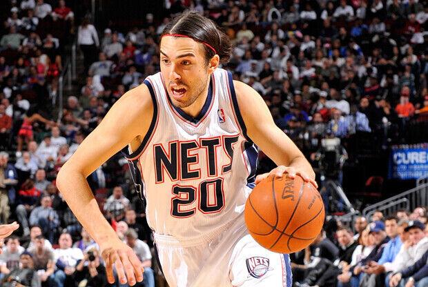 Sasha Vujacic (New Jersey Nets)./ Getty Images