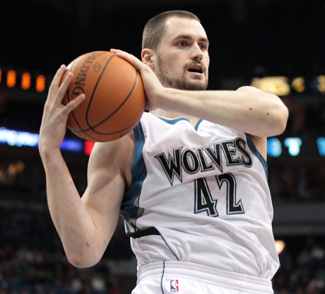 Kevin Love (Minnesota Timberwolves)./ Getty Images