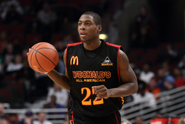 Branden Dawson durante el 2011 McDonalds All American Basketball./ Getty Images